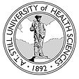 Logo seal for A.T. Still University of Health Sciences
