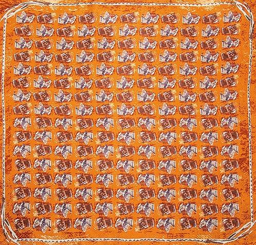 Horse Head Limited Edition Silk Scarf