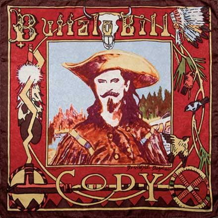 Buffalo Bill Limited Edition Silk Scarf