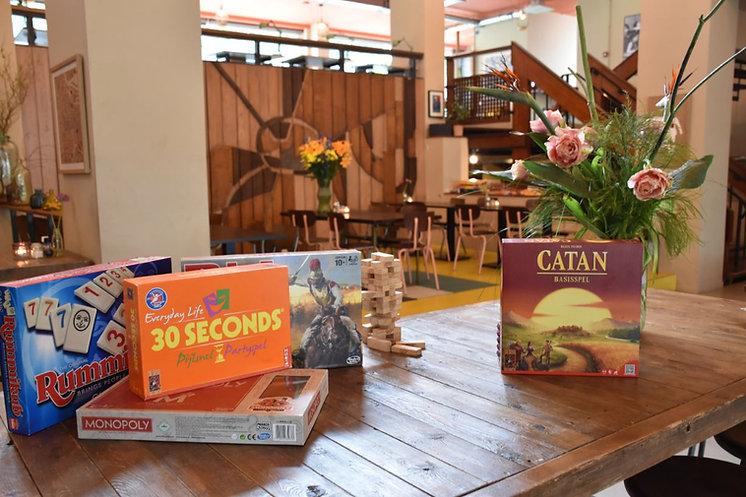 Plat - bordspellen - cafe - House of Wat