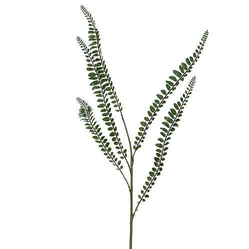 Gisela Graham Button Fern Spray 60cm