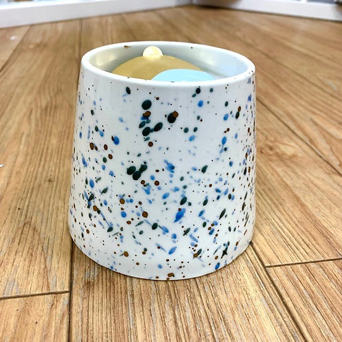 PaddyWax Confetti Candle - Saltwater and Lily