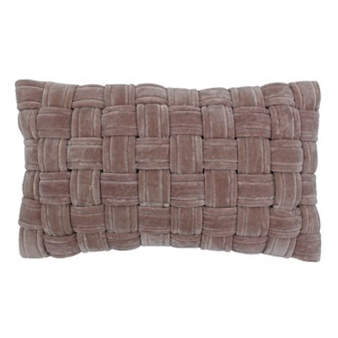 Kross Antique Blush Oblong Cushion 30cm x 50cm