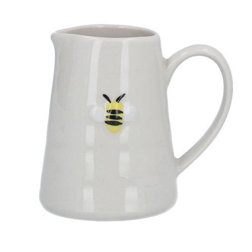 Gisela Graham Ceramic Mini Jug 8cm - Bee