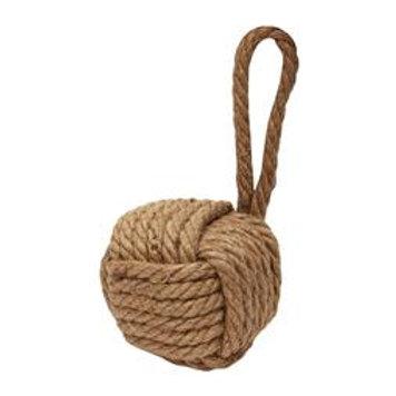 Ocean Breeze Knotted Rope Ball Door Stop