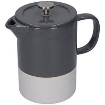 La Cafetiere Barcelona Cool Grey Ceramic 850ml Cafetiere