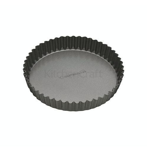 MasterClass Non-Stick 20cm Loose Base Fluted Quiche Tin