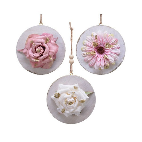 Hygge Style Pink Flower Hangers - Pink Daisy
