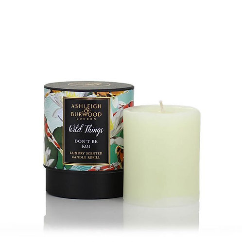 WILD THINGS: CANDLE REFILL - DON'T BE KOI