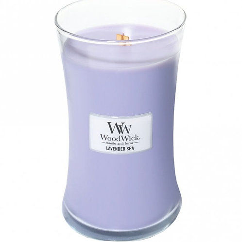 Lavender Spa - Large Hour Glass Candle