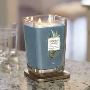 Yankee Candle Large Two Wick Square Coastal Cypress