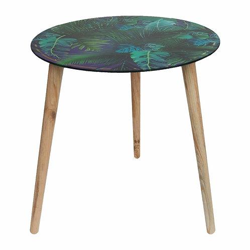 Hestia Tropical Glass Table