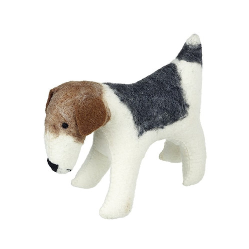 Jack Russell Terrier Felted Dog