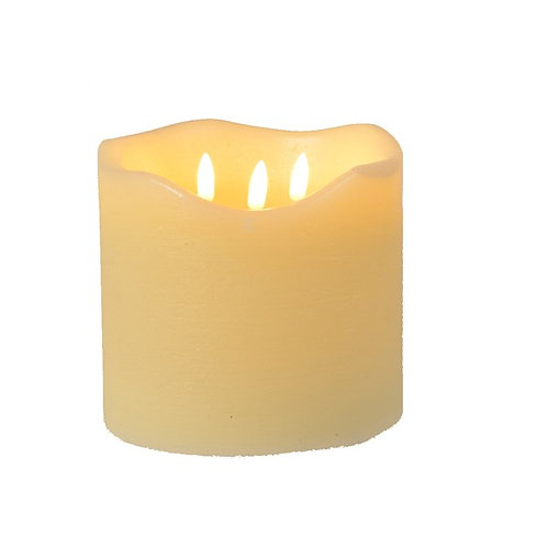 LED Wax Wick Candle  15x15cm