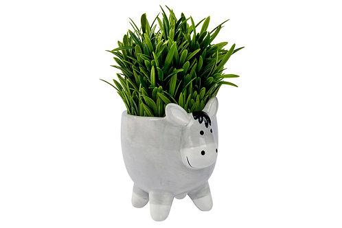 Ee-aw Donkey Ceramic Planter