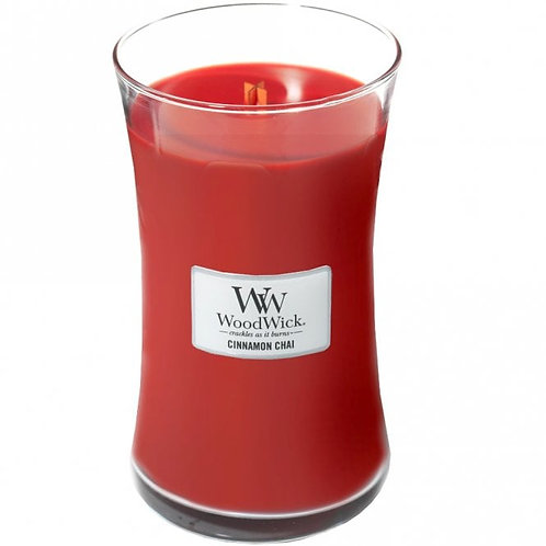Cinnamon Chai - Large Hour Glass Candle