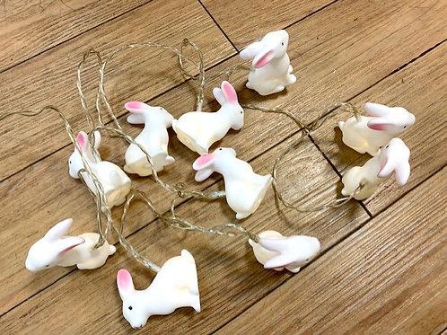 Gisela Graham Easter Spring Bunny Battery String Lights 210cm