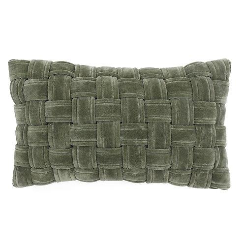 Kross Sage Green Oblong Cushion 30cm x 50cm