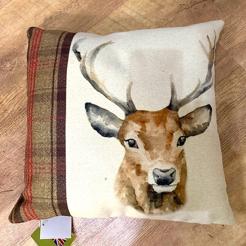 Evan Lichfield Country Stag Cushion