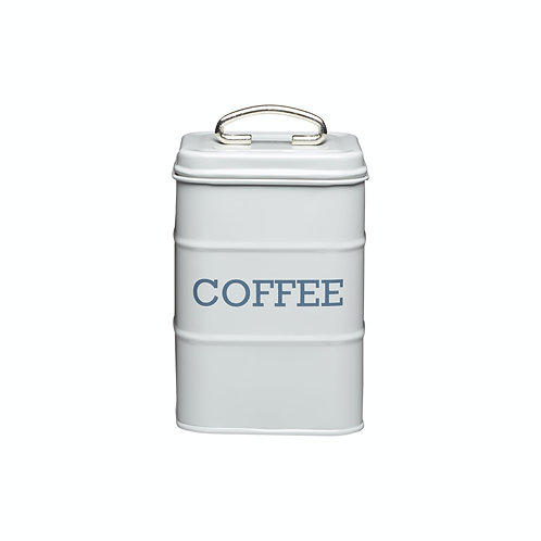 Living Nostalgia Coffee Storage Canister - French Grey