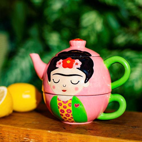 Frida Kahlo Teapot for One