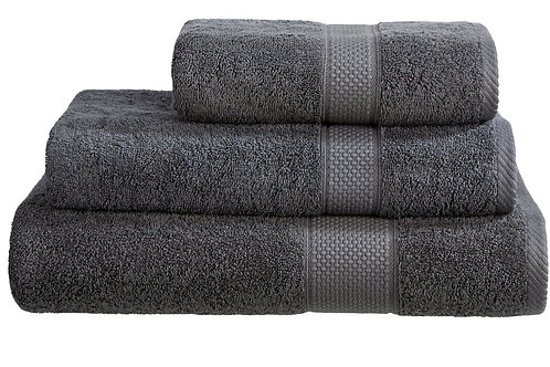Bath Towel - Charcoal