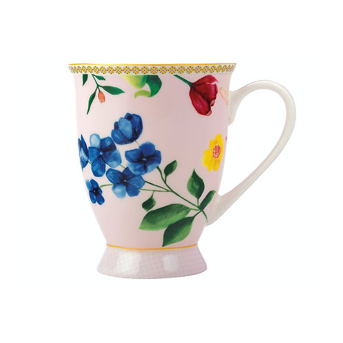 Maxwell and Williams Tea's & C's Contessa 300ml Rose Footed Mugs Set of Two