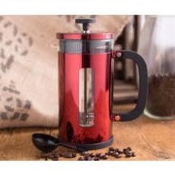 La Cafetiere Pisa 8 Cup Cafetiere Red