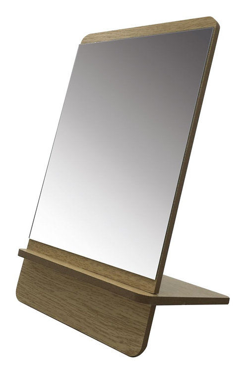 Wooden Mirror - Natural