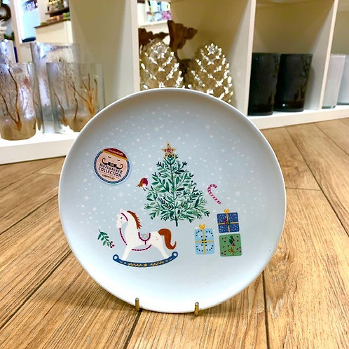 Kitchencraft Nutcracker Rocking Horse Canape Side Plate