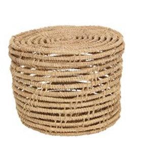 Gisela Graham Natural Woven Palm Fibre Basket