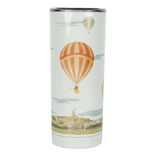 Built V&A Double Walled Stainless Steel Travel Mug - Hot Air Balloon 590ml
