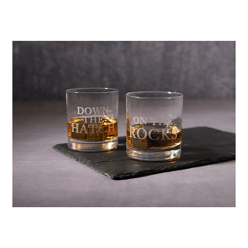 Earlstree and Co Set of 2 Whisky Glasses