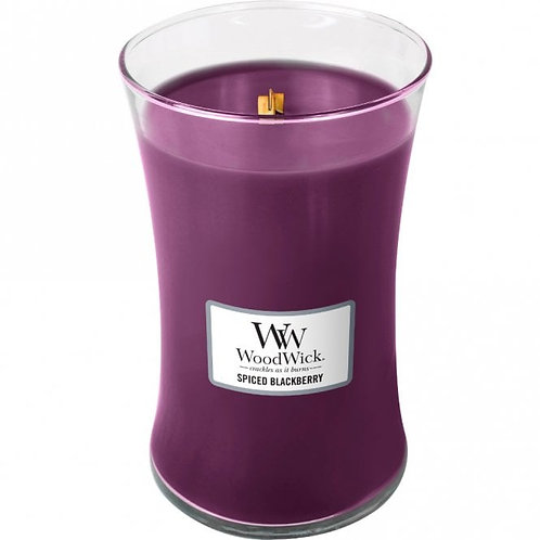 Spiced Blackberry - Large Hour Glass Candle