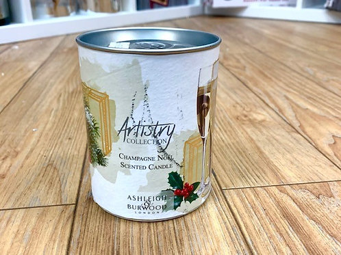 Ashleigh and Burwood Artistry Collection Champagne Noel Candle