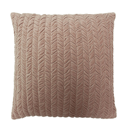 Allure Blush Square Cushion by Riva Home 45x45cm