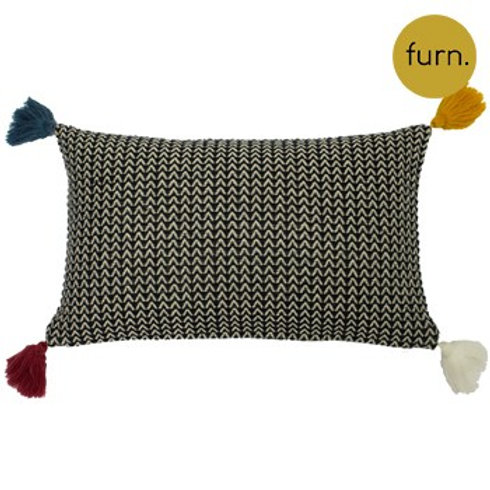 Rhia Monochrome Cushion 30cm x 50cm