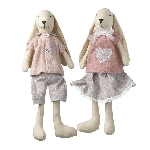 Heaven Sends Shelf Sitter Girl Easter Bunny 35cm