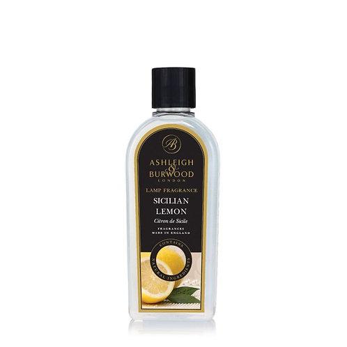 Ashleigh & Burwood Lamp Fragrance 500ml - Sicilian Lemon