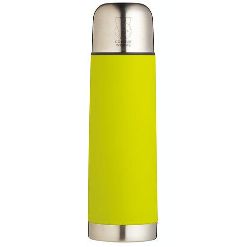 Colourworks Stainless Steel Vacuum Flask - Green
