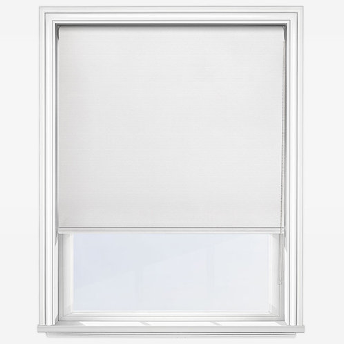 Universal Snow White Roller Blind Blackout 60cm