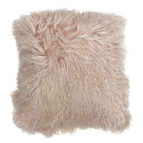 Mongolian Shell Pink Square Cushion by Riva Home 40x40cm