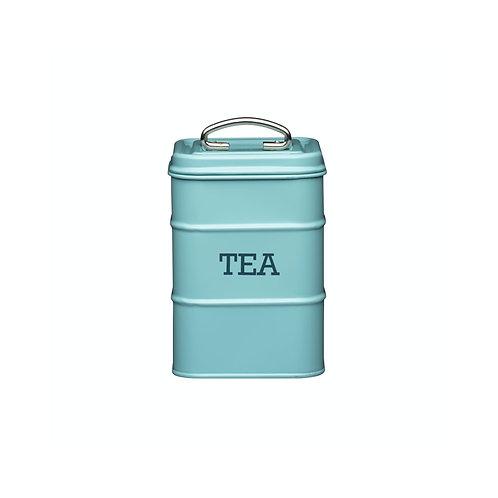 Living Nostalgia Tea Storage Canister - Antique Blue