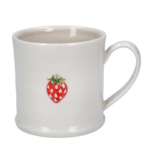 Gisela Graham Ceramic Mini Mug - Strawberry