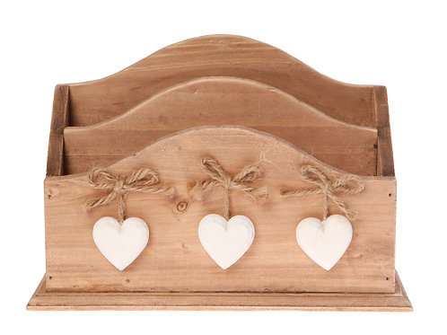 Sass and Belle Ashley Farmhouse Letter Rack