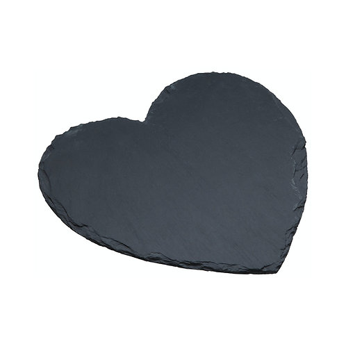 Slate Heart Serving Platter 25cm