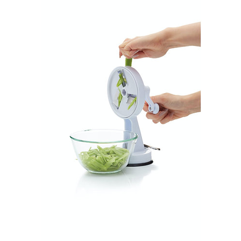 Kitchencraft Traditional Style Rotary Bean Slicer