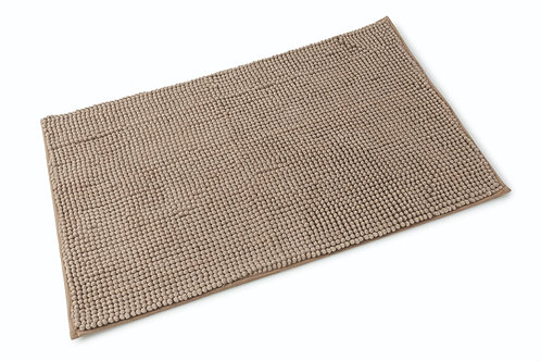 Microfibre Bath Mat - Walnut