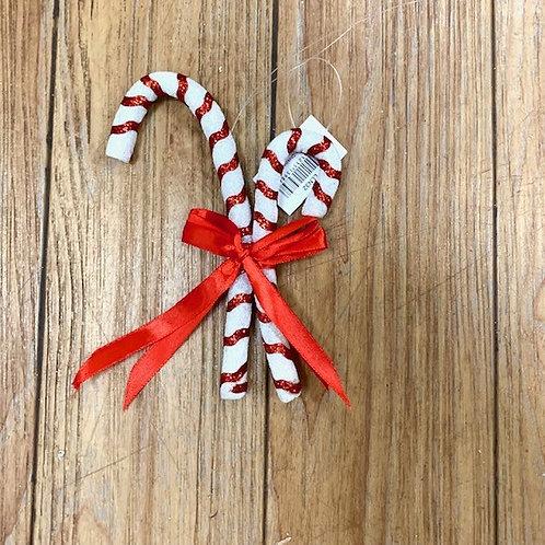 Gisela Graham Small Candy Cane Hanger