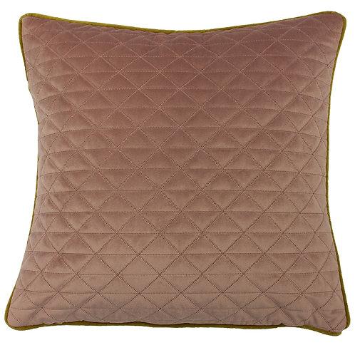 Quartz Blush and Gold Cushion by Riva Home 45x45cm